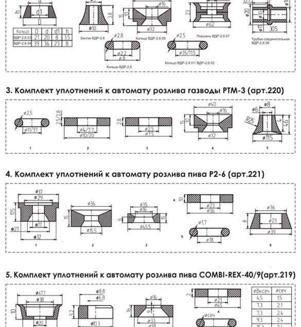 komplect_uplotneniy_avtomat_rozliva